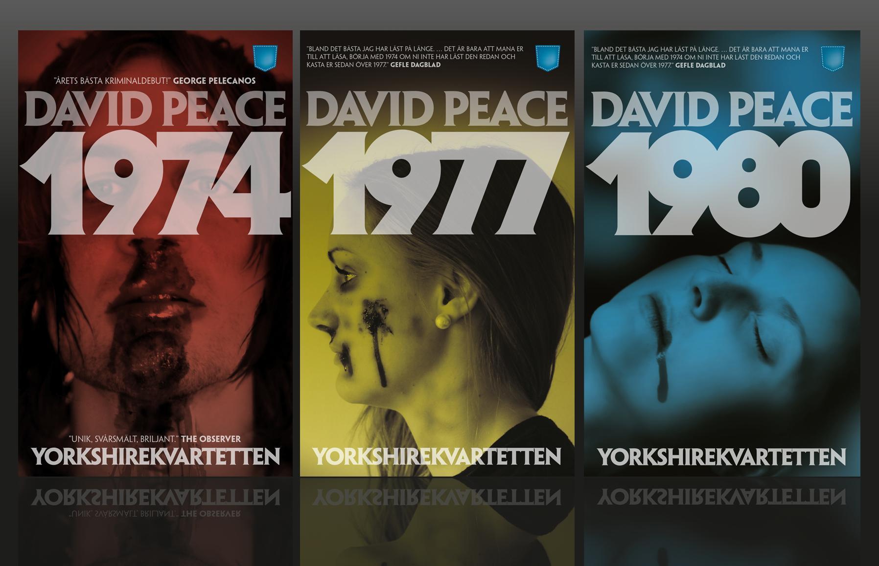 David Peace – 1974, 1977, 1980