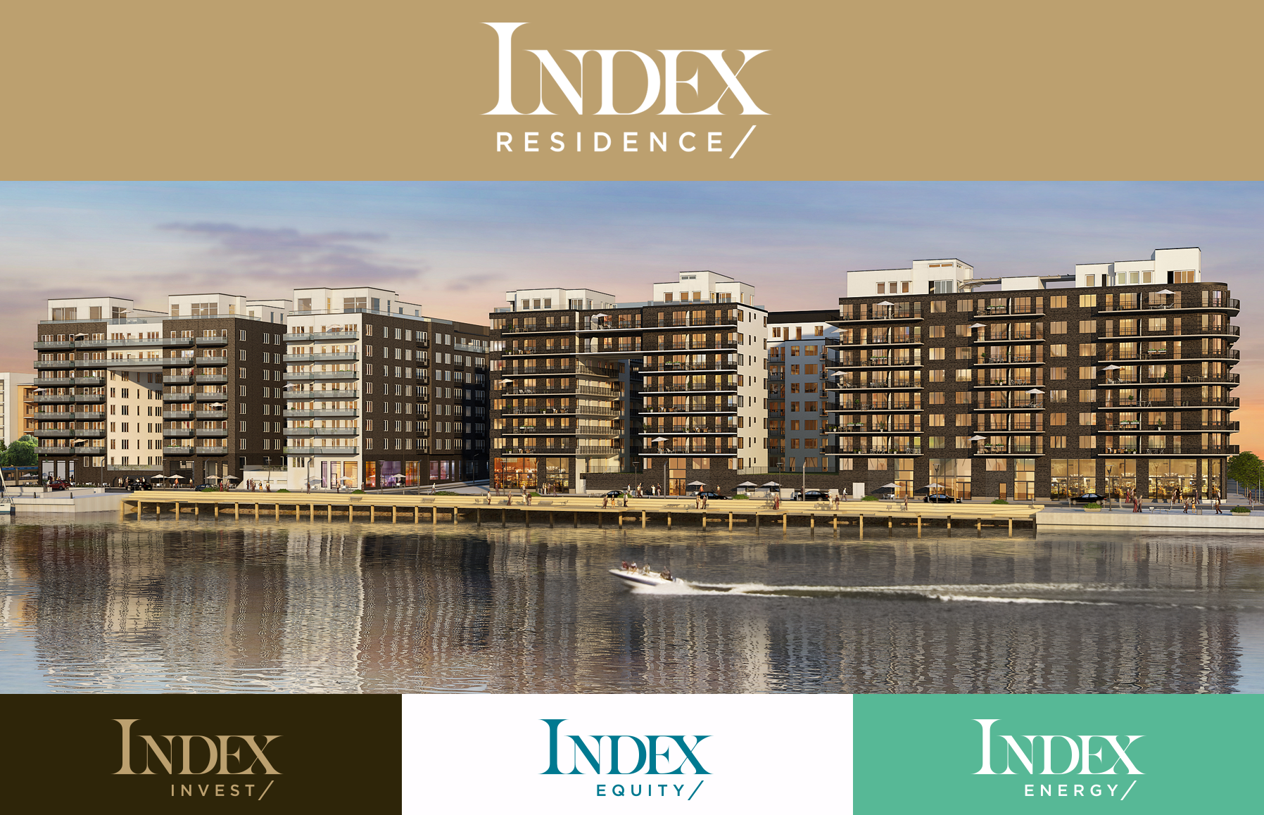 Index Residence / Index Invest / Index Equity / Index Energy